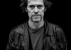 William Dafoe, Amsterdam 2012, Hahnemuhle Baryta FineArt Print  84x108cm, Edition of 5, Also available: 40x50cm, Edition of 7