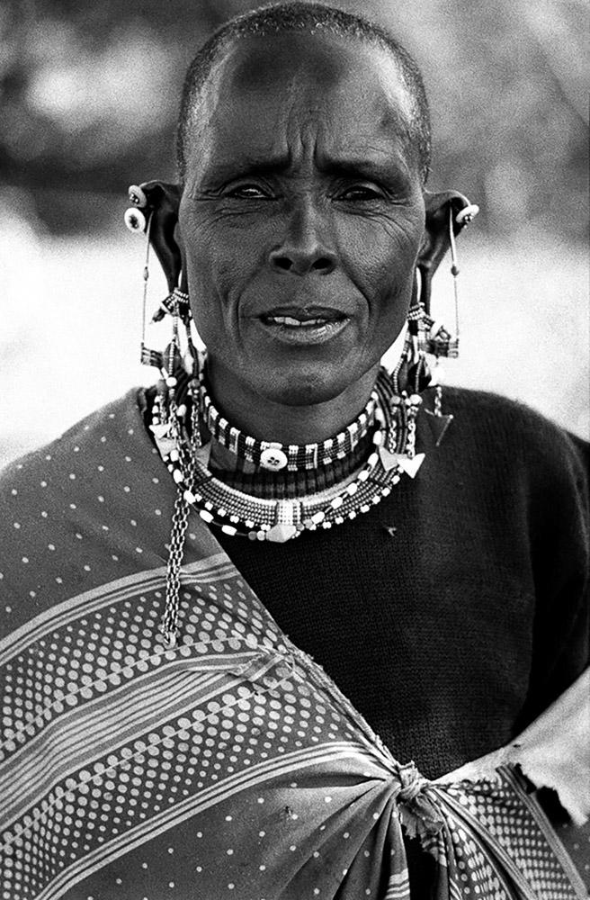 Masai Woman, Kenya 1989