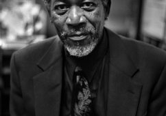 Morgan Freeman, New York 1998, Hahnemuhle Baryta FineArt Print 100x140cm, Edition of 5, Also available: 40x50cm, Edition of 10