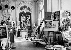 Atelier Picasso, Villa La Californie, Cannes c 1955 Canson fine art print, mounted, printed 2017, 85.5×72.5cm, Edition of 10