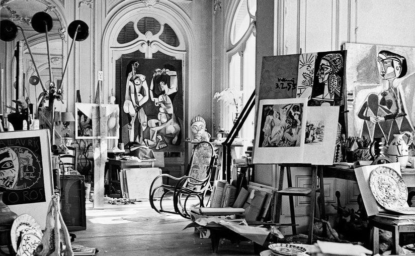 Atelier Picasso, Villa La Californie, Cannes c 1955 Canson fine art print, mounted, printed 2017 85.5x72.5cm Edition of 10