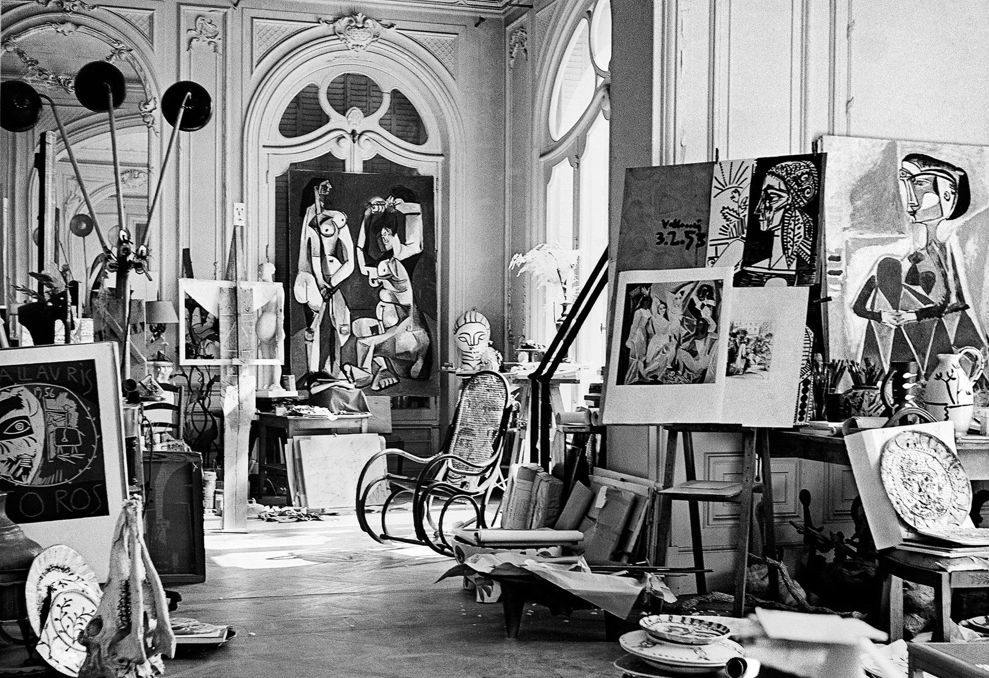 Atelier Picasso, Villa La Californie, Cannes c 1955 Canson fine art print, mounted, printed 2017 85.5x72.5cm, Edition of 10