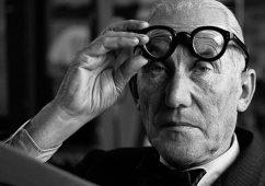 Le Corbusier, France 1960, Silver gelatin print 30x40cm
