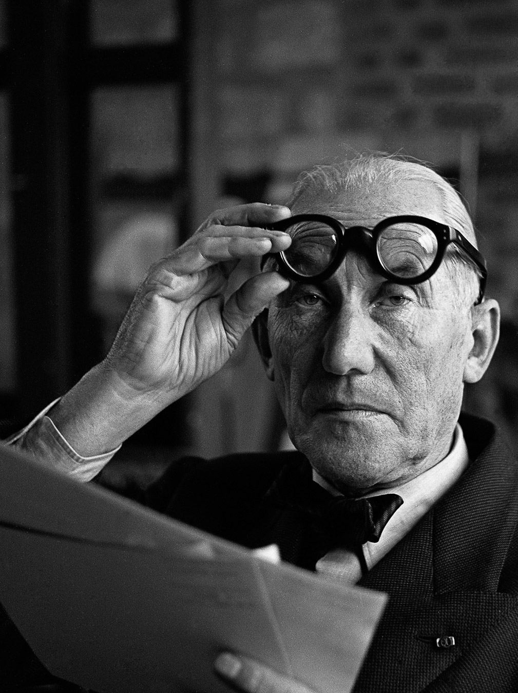 Le Corbusier, France 1960 Silver gelatin print 30x40cm