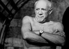 Picasso, Vallauris 1955, Silver gelatin print 30x40cm