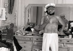 Picasso as Popeye, Cannes 1957, Silver gelatin print 30x40cm