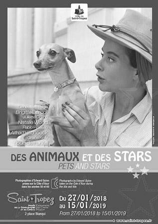 Des animaux et des stars – stars and pets