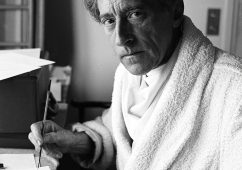 Jean Cocteau, Villa Santo Sospir 1952, Silver gelatin print 40x50cm