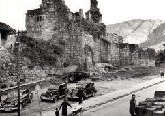 Castelo dos Sarmiento, Ribadavia 1961, Silver gelatin print 30x40cm
