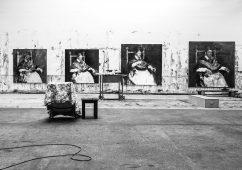 Atelier Yan Pei-Ming, Paris 2013