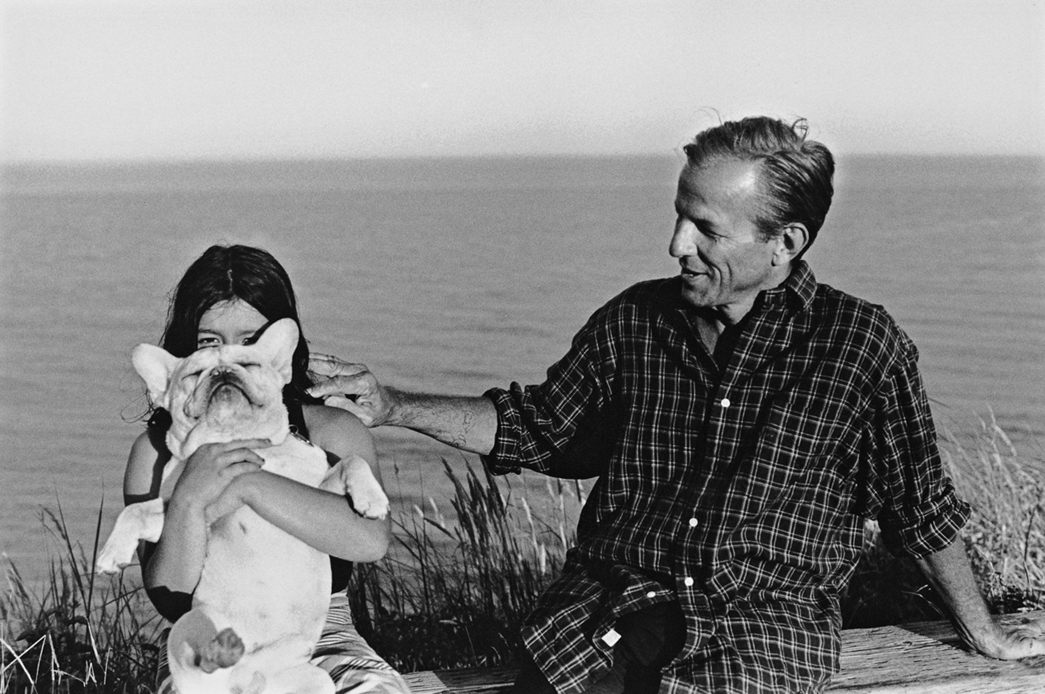 Zara and Peter Beard, Montauk, Long Island 1997