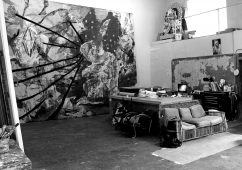 Studio Julian Schnabel, New York 2014
