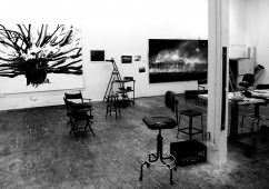 Robert Longo Studio, New York 2014