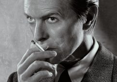 David Bowie, Smoking 2001 Fuji Crystal Archive print, 65x80cm